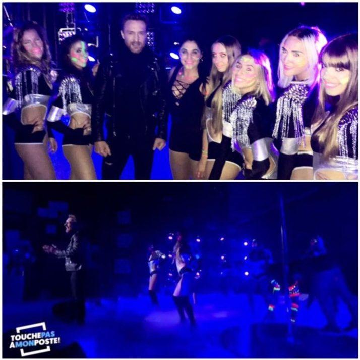 De nouveau sur le plateau de «Touche pas à mon poste» cette fois ci avec nous dansions avec David Guetta