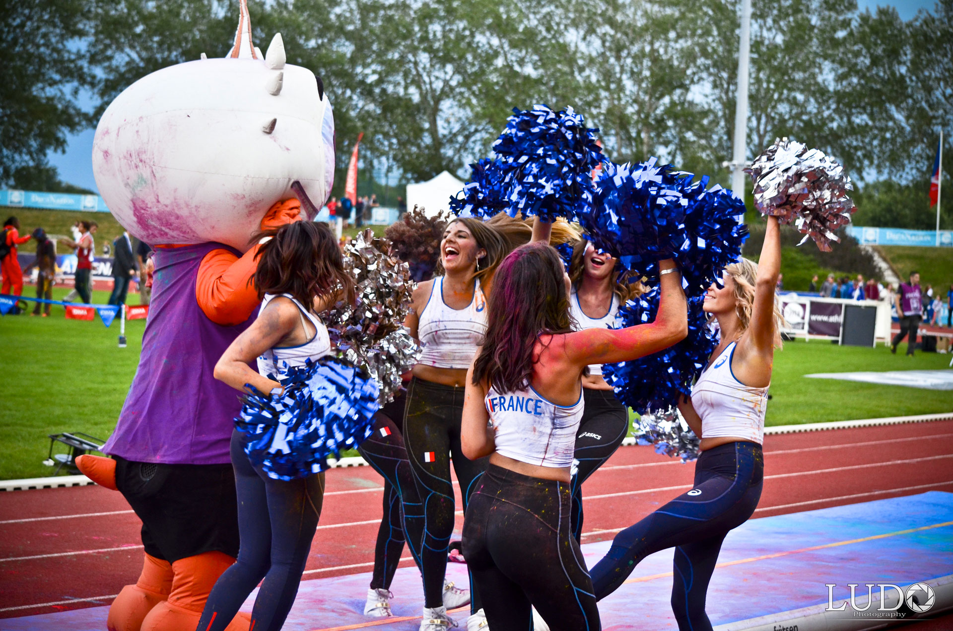 Cheers up Dance, les pompom girls d'Angers