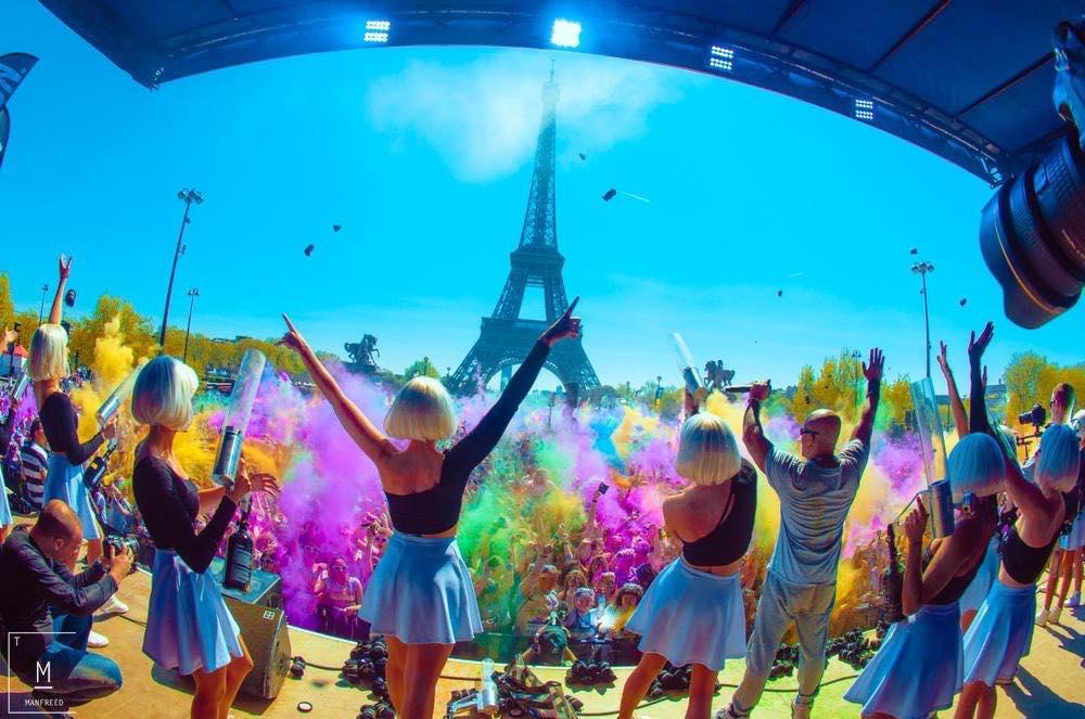 Un show mémorable devant 25000 spectateurs pour la Color Run !