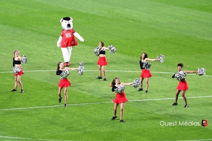 Rennes-PSG animé par les Cheers up !
