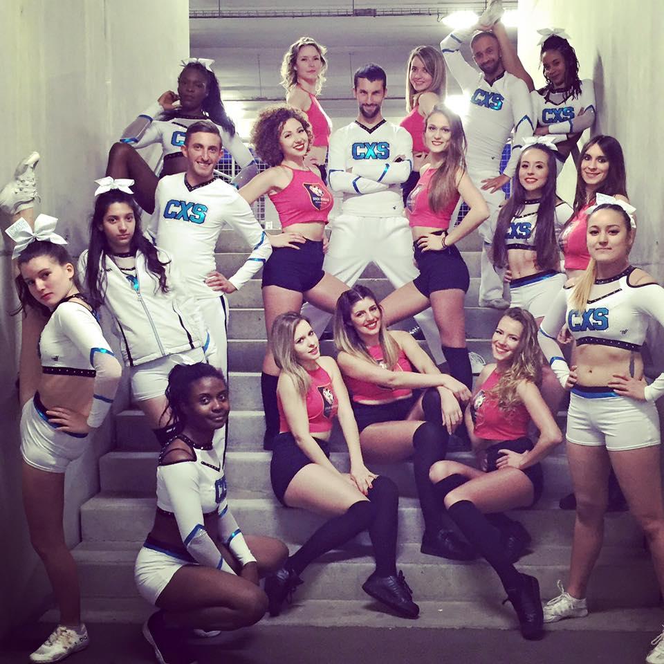 Un show inédit avec les Cheer Excess au Stade Rennais !