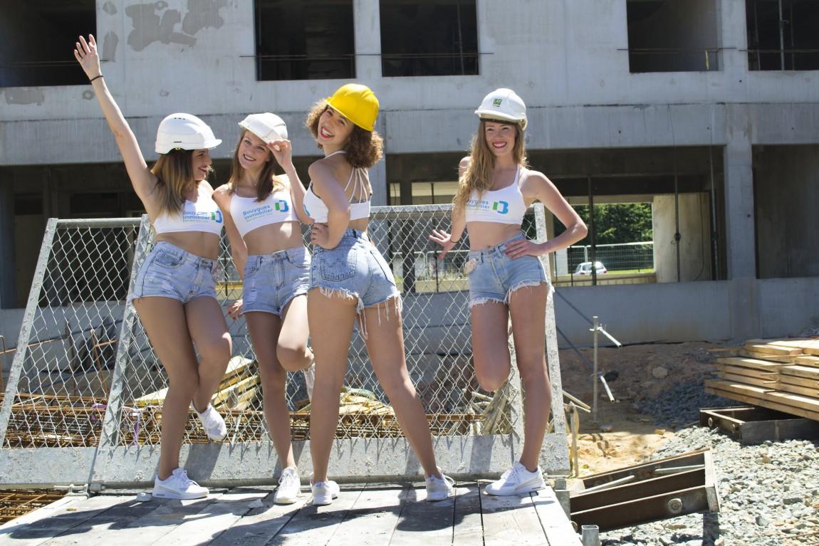 Retour en images sur la prestation des Cheers up et des Wolf Gang pour Bouygues Construction