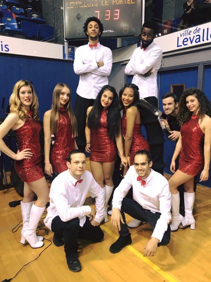 Notre squad pour les Levallois Metropolitans !