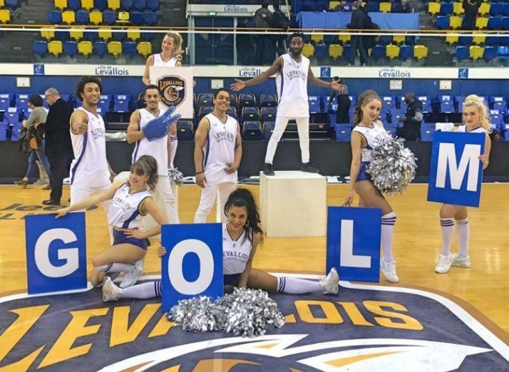 Cheers up Dance, performers officiels des Levallois Metropolitans