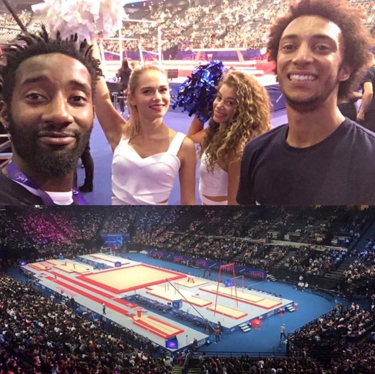 Les internationaux de gym à l'AccordHotels Arena